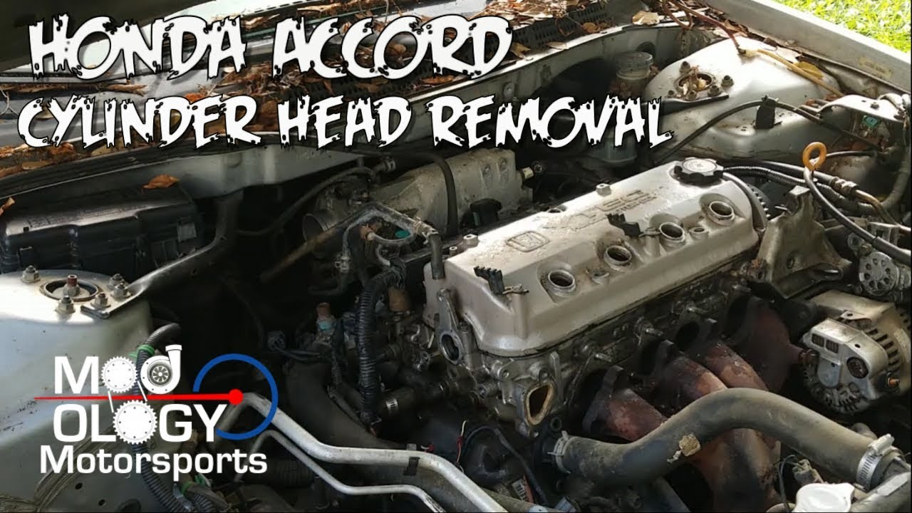honda accord cylinder head removal step by step  [ 1280 x 720 Pixel ]