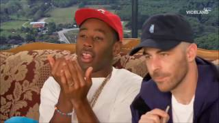 Tyler, the Creator watches Ancient Aliens with Action Bronson, The Alchemist