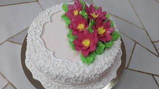 Бисквитный торт для женщины