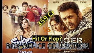 Box Office Collection Of Tiger Zinda Hai & Fukrey Returns 2017-18 Video