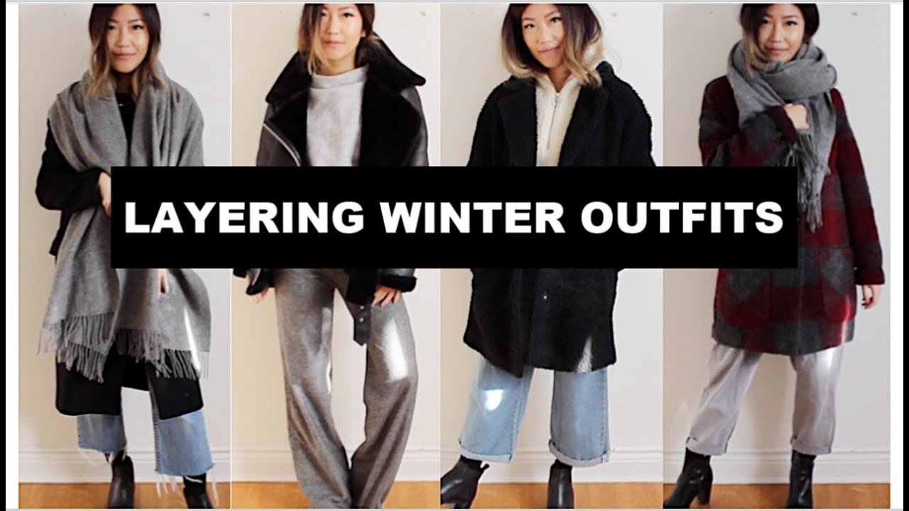 [VIDEO] - LAYERING WINTER OUTFITS | Capsule Winter Outfits 9