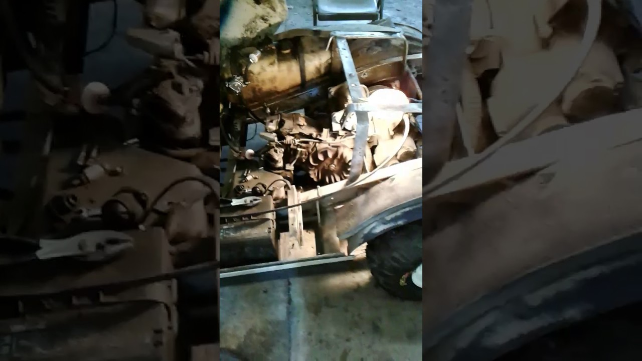 Coil Replacement On 1993 Club Car Ds Youtube Wiring Diagram