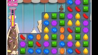Candy Crush Saga Level 40 - 3 Stars No Boosters