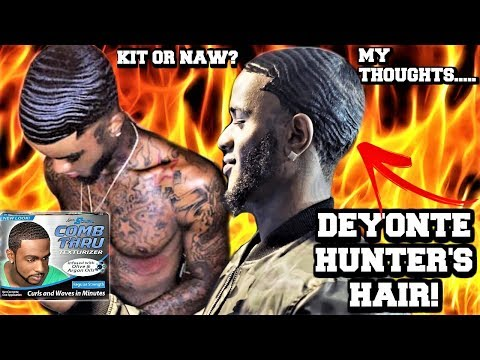 360 WAVE KIT OR NAW? REAL OR FAKE WAVES || POPPY BLASTED THOUGHTS ON DEYONTE HUNTERS HAIR!!!