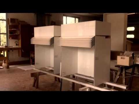 hochschrank ballett f r die k che youtube. Black Bedroom Furniture Sets. Home Design Ideas
