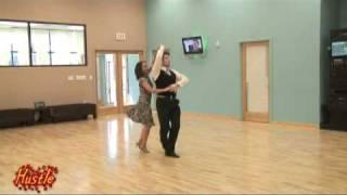 Hustle Bronze Ballroom Dance Clip for www.DanceTX.com - How to Dance The Hustle