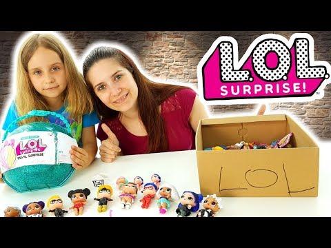 Bambole Lol Surprise: Collezione Completa Con Lady Bug E Chat Noir - Giochi Per Bambine