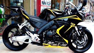 YCR 400cc DUAL CYLINDER EFI ENGINE & ABS BRAKE BY ZONGSHEN FULL REVIEW & SOUND TEST ON PK BIKES