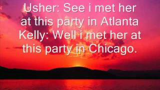 R Kelly and Usher- Same Girl Lyrics.wmv