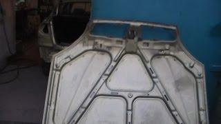 Ржавчина с внутренней стороны капота(шовный герметик) Сенс-Ланос.(, 2016-08-05T11:09:08.000Z)
