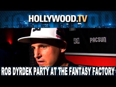 """""""Rob Dyrdek parties at the Fantasy Factory - Hollywood.TV"""""""
