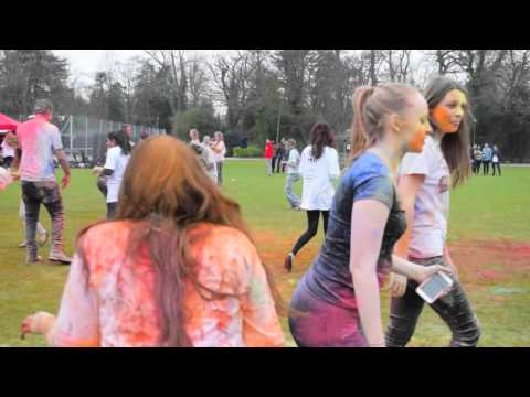 RHUL Holi 2016 with Hindu Society // Balam Pichkari // RHUL Reel Music Society