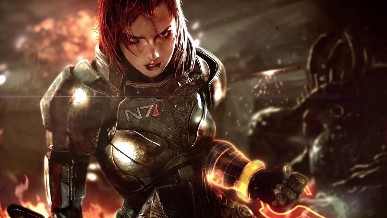 Mass Effect Jane Shepard Animated Wallpaper Dreamscene Hd