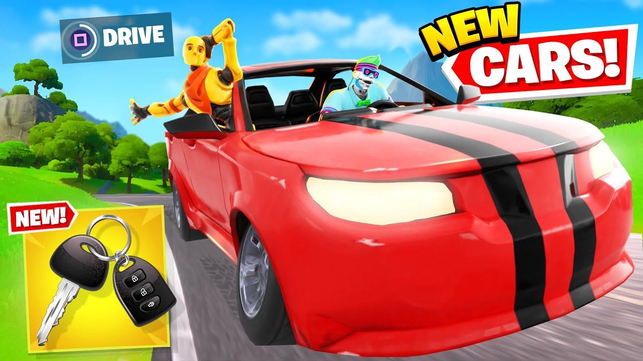 *NEW* CAR UPDATE is EPIC in Fortnite! (ALL CARS + SECRETS)