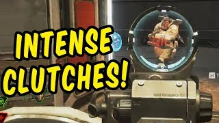 Intense Clutch Compilation - Apex Legends Gameplay