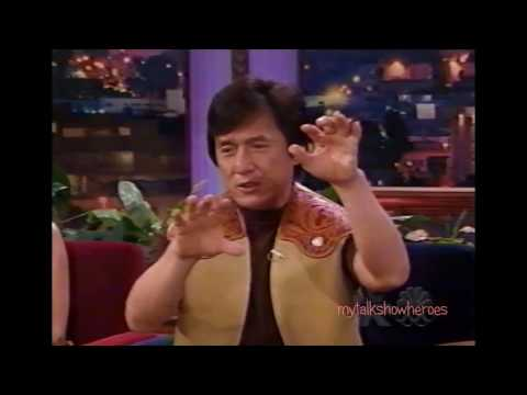 JACKIE CHAN has FUN with LENO