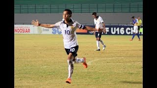 AFF U-16 Championship: Singapore vs Laos
