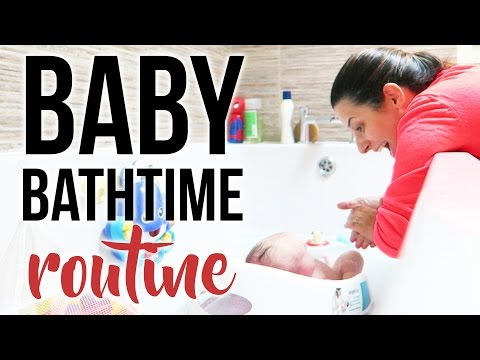 NEWBORN BABY BATH TIME ROUTINE + Essential Baby Bath Products  Ysis Lorenna