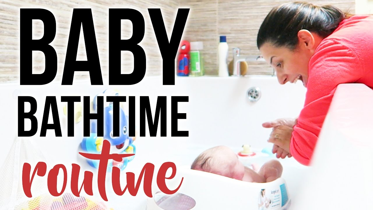 NEWBORN BABY BATH TIME ROUTINE + Essential Baby Bath Products | Ysis ...