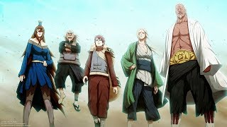 Naruto Top 20 Strongest Kages