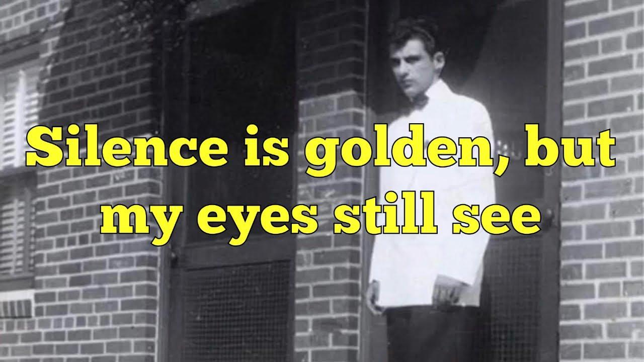 """Silence Is Golden"" - The Four Seasons - Lyrics - YouTube"