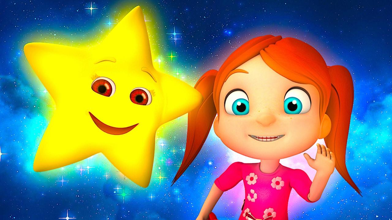 Twinkle Twinkle Little Star Kindergarten Nursery Rhymes Songs For Kids Youtube