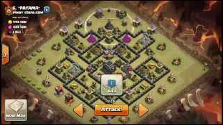 Clash of Clans [WiGoVa] TH9 Three star