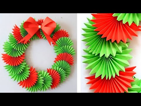 DIY Paper Christmas Wreath | Decoration Ideas for Upcoming Christmas by Julia Datta 1411
