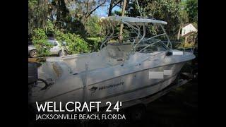 Used 2004 Wellcraft 252 Coastal for sale in Jacksonville Beach, Florida.