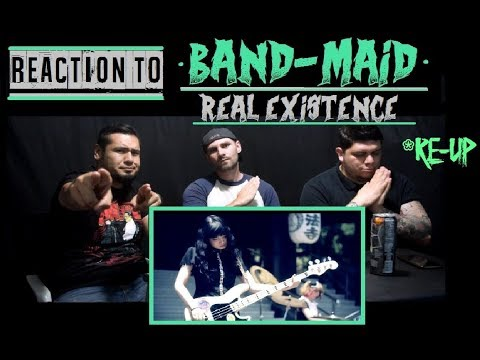 *RE-UP* Reaction To: BAND-MAID - Real Existence