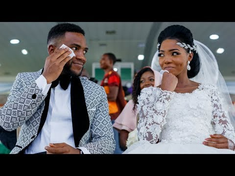 TOLULOPE AND GBEMIGA ADEJUMO WHITE WEDDING || BEST WEDDING EVER