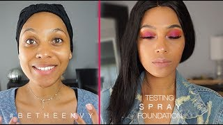 TESTING SPRAY FOUNDATION | FIRST IMPRESSIONS