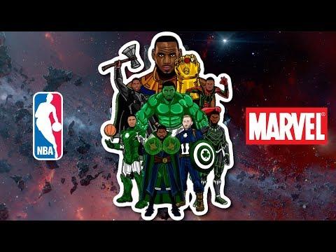 NBA Finals Cleveland Cavaliers👑 Beat Celtics☘️ - AVENGERS INFINITY WAR TRAILER