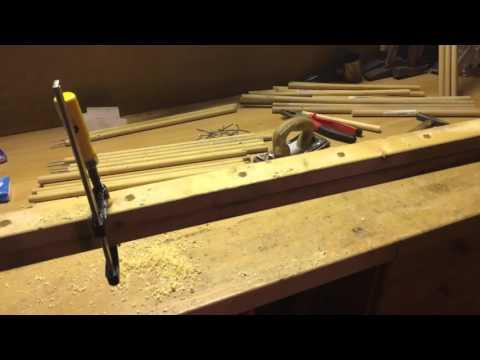 Wellensittich Holz Leiter selber bauen