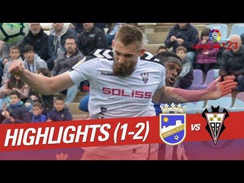 Resumen de Lorca FC vs Albacete Balompié (1-2)