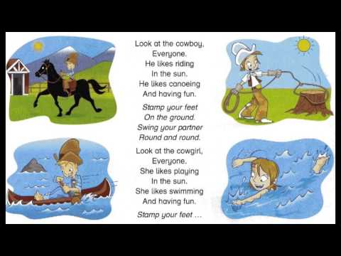 Look at the cowboy (song for children)