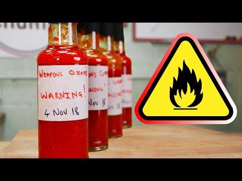 Weapons Grade Hot Sauce