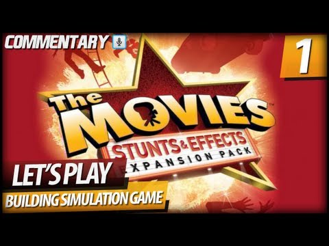 The Movies - Walkthrough Let's Play PART 1 | Film Industry Tycoon Game (Commentary)