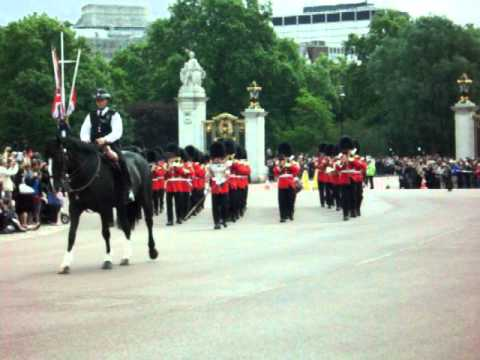 Changing Guards at Buckingham Place