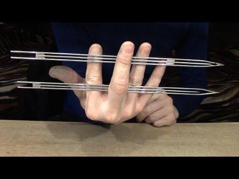 Узкий челнок для вязки сетей своими руками