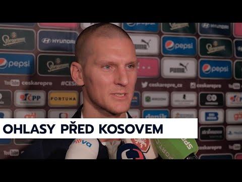 Tomáš Vaclík a Zdeněk Ondrášek před zápasem s Kosovem