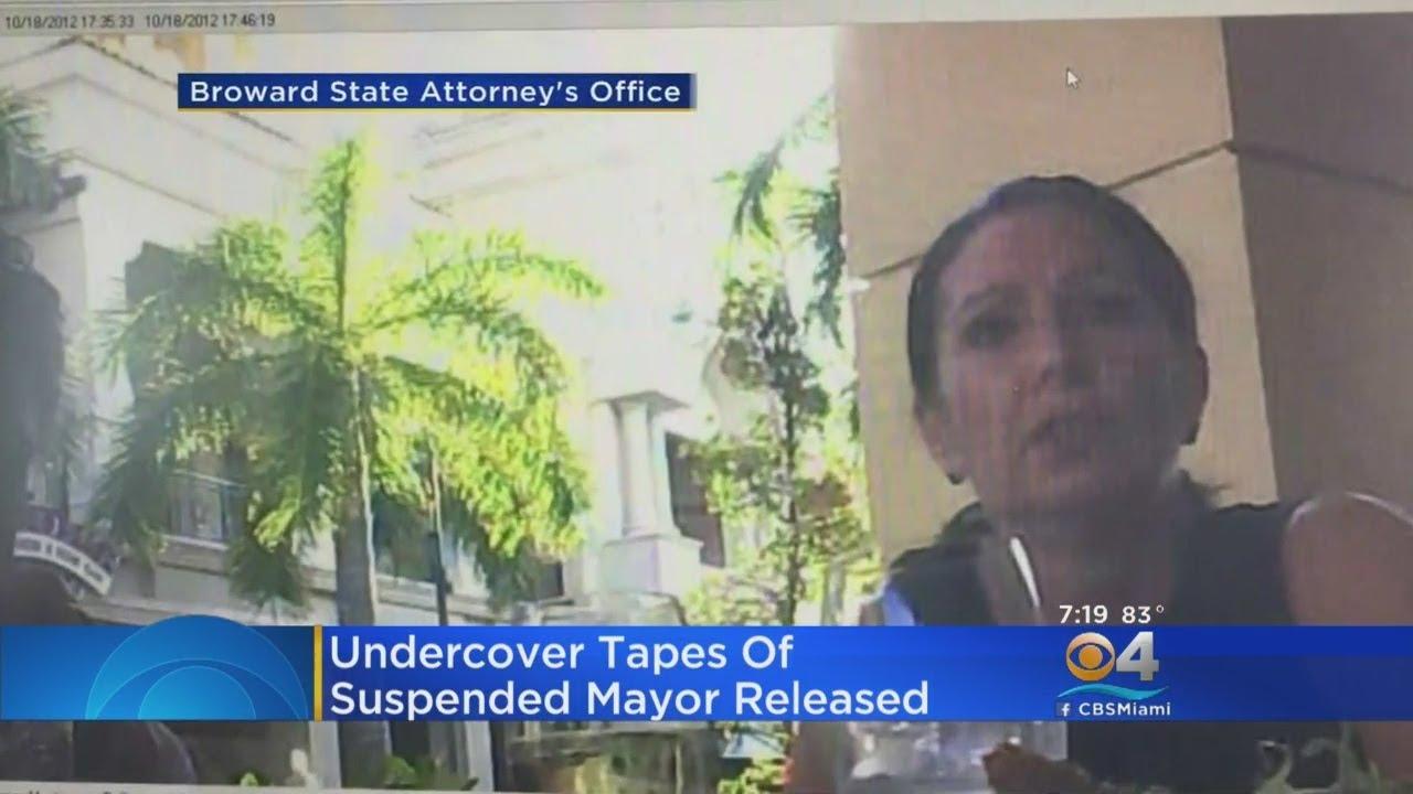 Undercover Video Released In Case Of Suspended Hallandale Beach Mayor