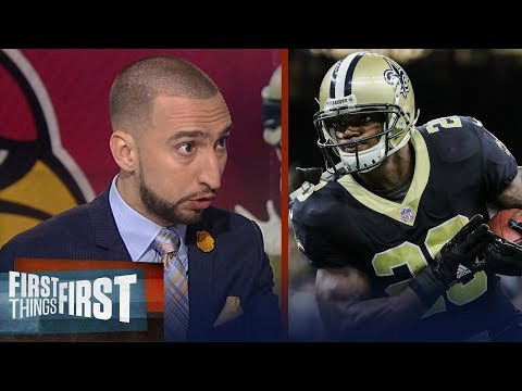 Adrian Peterson traded to Arizona - Cris and Nick react | FIRST THINGS FIRST