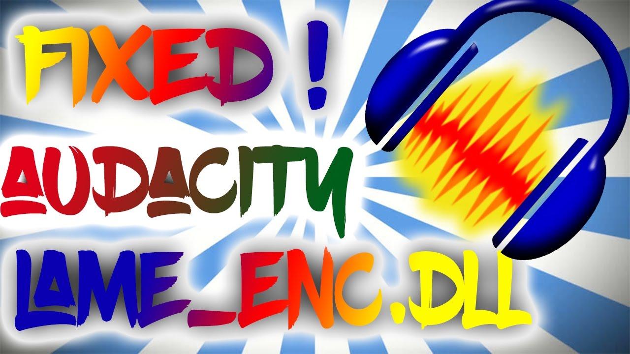 plugin lame enc.dll para audacity