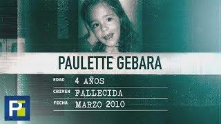 La Huella de un Crimen: La niña Paulette, desapareció y fue hallada muerta en su propia habitación n