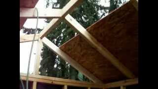 How To Build A Shed Step 29 Construction Woodworking Diy Backyard Home Improvement With Music