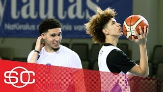 LiAngelo and LaMelo Ball leave BC Vytautas because of injuries | SportsCenter | ESPN