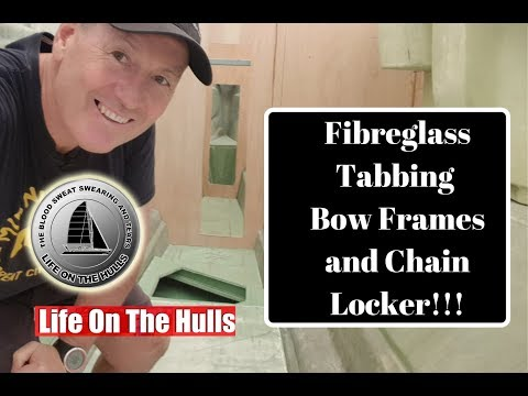 How to Tab Bulkheads in a Yacht - Building our Catamaran Ep069