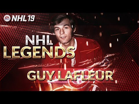 NHL 19 Legends Return | Guy Lafleur to Montreal Canadiens