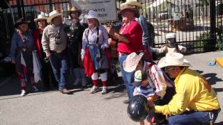 2015 Island Oktoberfest With Houston Livestock Show & Rodeo Clowns